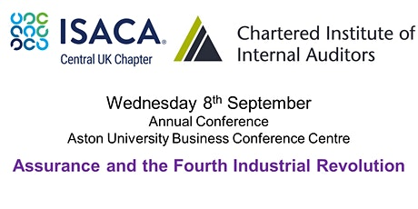 ISACA Central UK & IIA West Midlands Annual Conference tickets