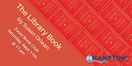 Zoom Book Club: The Library Book by Susan Orlean tickets