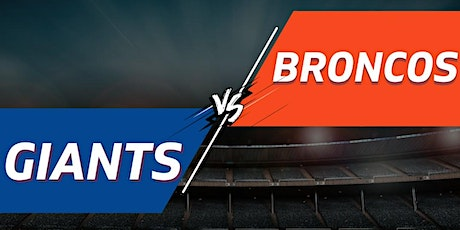 Giants vs. Broncos Tailgate Party + Tickets - September 12th tickets