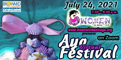 """Women in Music  AYO presents """" 2021 AYO Virtual Music Festival"""" tickets"""