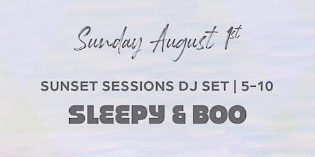 Sleepy & Boo - Watermark Beach Sunset Sessions - free tickets