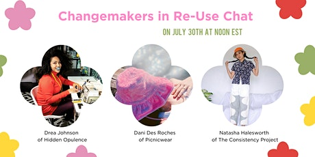 Changemakers in Re-Use Chat biglietti