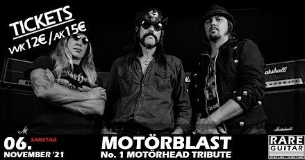 Motörblast - No. 1 Motörhead Tribute Tickets
