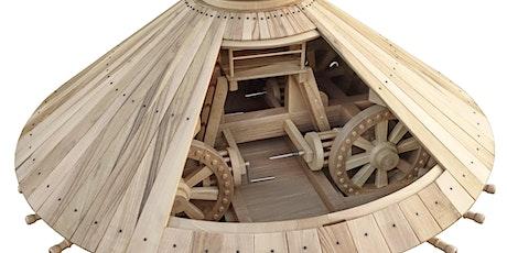 Visite guidée des drôles de machines de Léonard De Vinci par Claude Picoux billets