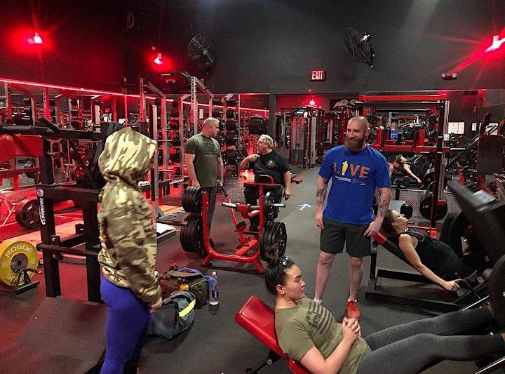 Strength Training:  Lower Body Circuit image