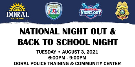 National Night Out & Back to School Night tickets