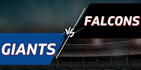 Giants vs. Falcons Tailgate Party + Tickets - September 26th tickets
