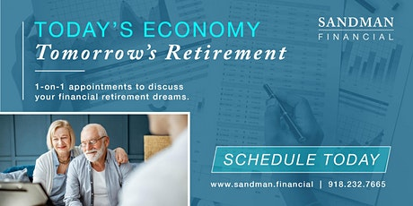 Today's Economy, Tomorrow's Retirement - 1on1 retirement appointments tickets