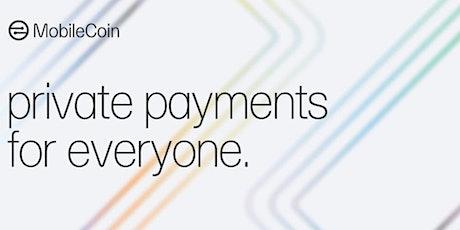 First MobileCoin  London Meetup tickets
