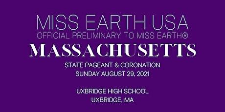 Miss Massachusetts Earth USA State Pageant & Coronation tickets