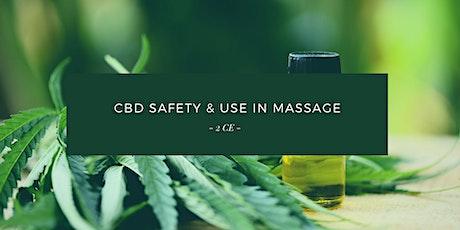 NEW! Hybrid: CBD Safety & Use in Massage (2 FREE CE) tickets