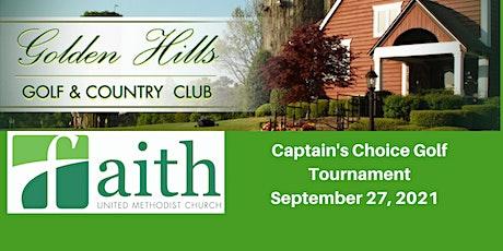 Faith UMC 2021 Annual Golf Tournament tickets