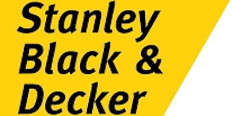 HIRING EVENT Stanley Black & Decker. - Allentown, PA Location tickets