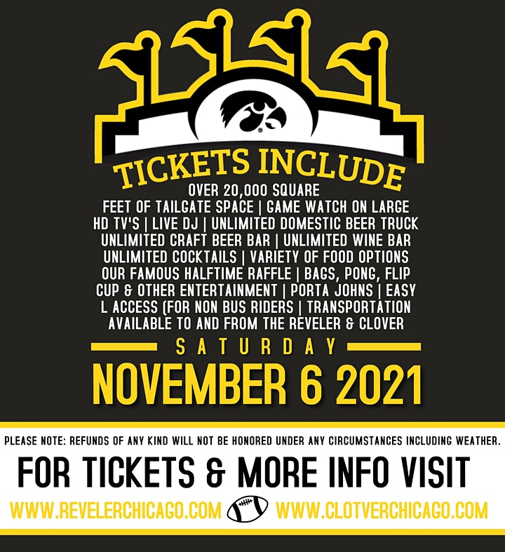 The Official IOWA Tailgate vs. NU - BIGGEST PARTY OF THE YEAR (2,000+PPL) image