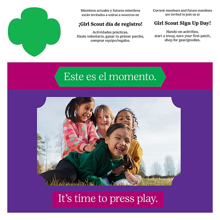 Girl Scouts Sign Up Day - Loveland, CO image
