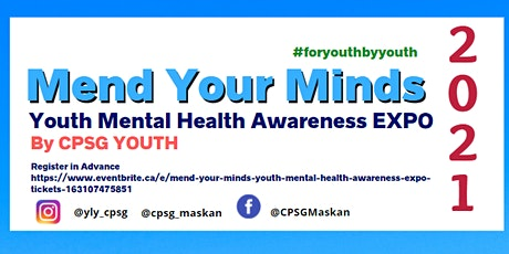Mend Your Minds- Youth Mental Health Awareness Expo tickets