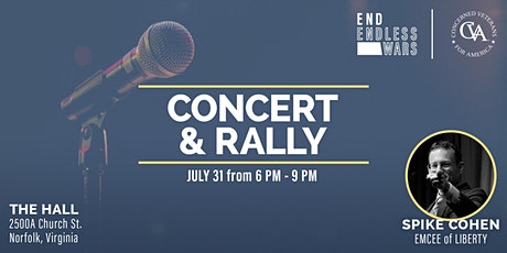 End Endless Wars Concert & Rally tickets