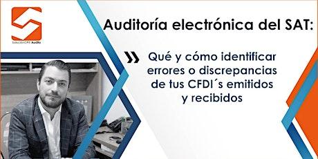 Auditoría Electrónica del SAT entradas