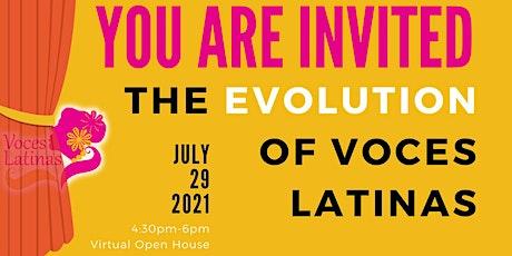 Voces Latinas Virtual Open House tickets