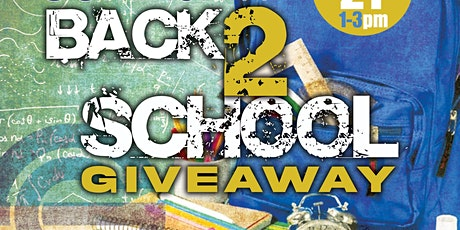 Back 2 School Community Giveaway tickets