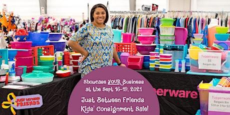 Vendor Opportunity - Showcase YOUR Local Business-JBFSNH  Kids' Pop Up Sale tickets