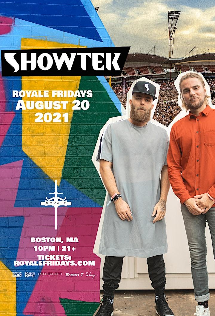 Showtek  at Royale | 8.20.21 | 10:00 PM | 21+ image