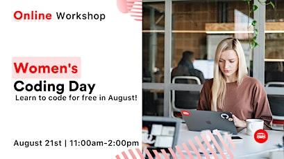 [ONLINE WORKSHOP] Women's Coding Day tickets