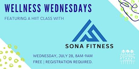 Wellness Wednesdays: Bodyweight HIIT Class tickets