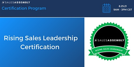 Rising Sales Leadership Certification tickets