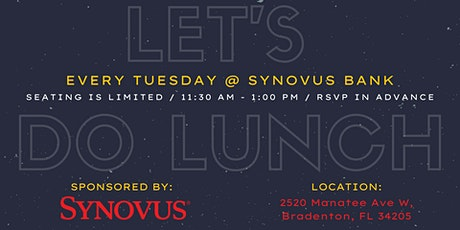 Let's Do Lunch @ SYNOVUS Bank (8/24) tickets