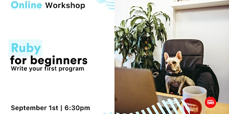 [ONLINE WORKSHOP] Ruby for Beginners! tickets