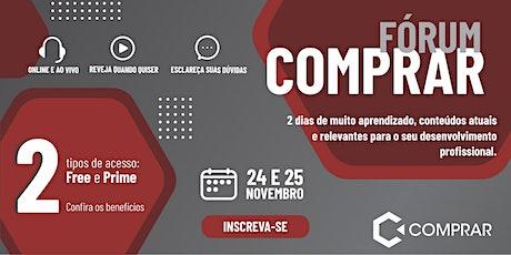 Fórum Nacional de Compras - COMPRAR 2021 tickets