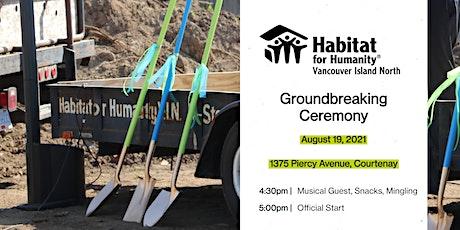 Groundbreaking Ceremony for Habitat's 1375 Piercy Project tickets