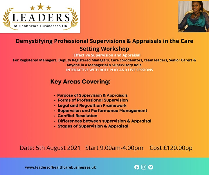 Conducting Appraisals & Supervision in a Care Setting image