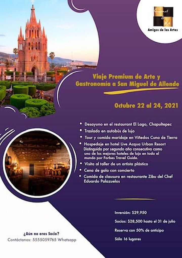 Imagen de Viaje Premium a San Miguel Allende | Gourmet & Art