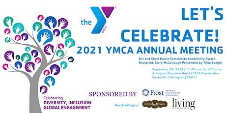 2021 Arlington-Mansfield Area YMCA Annual Meeting Luncheon tickets