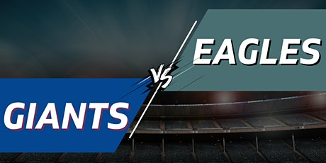 Giants vs. Eagles Tailgate Party + Tickets - November 28th tickets