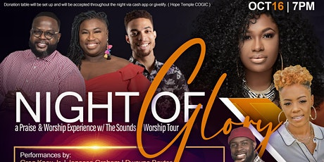Night of Glory a Praise and Worship Experience with Sounds of Worship tour tickets