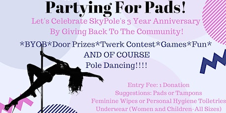 Pole Partying For Pads! A Pole Dance Party With A Purpose! tickets