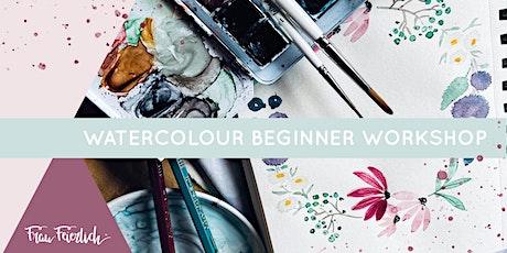 Watercolour Beginner Workshop Tickets