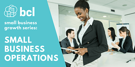 Small Business Operations for Growth tickets