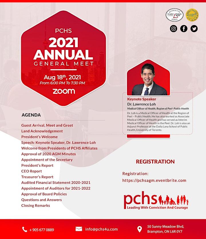 Punjabi Community Health Services Annual General Meeting 2021 image