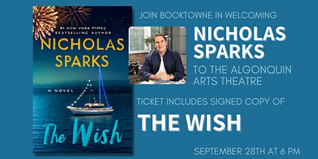 Nicholas Sparks at the Algonquin Arts Theatre in Manasquan! tickets