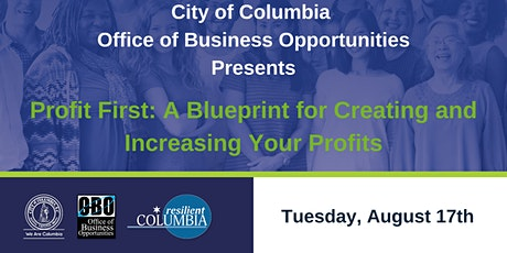 Profit First: A Blueprint for Creating and Increasing Your Profits tickets