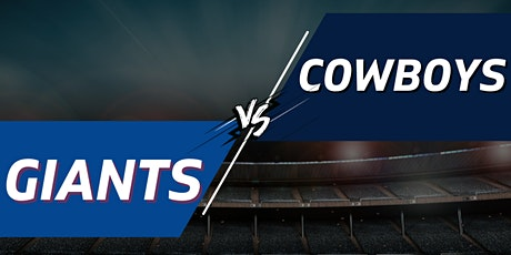 Giants vs. Cowboys Tailgate Party + Tickets - December 19th tickets