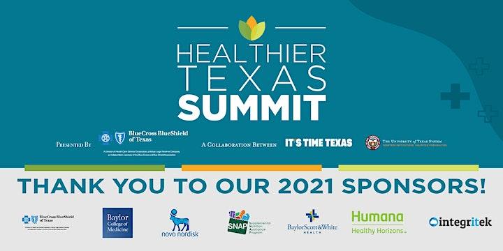 Healthier Texas Summit image