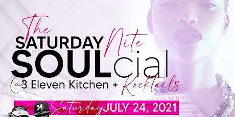 The Saturday Nite SOULcial tickets
