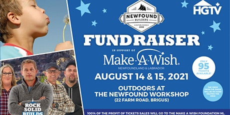 Newfound Builders Fundraiser in support of Make-A-Wish tickets