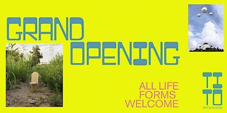 TITO Art & Design: Grand Opening Celebration! tickets