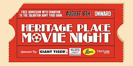 Heritage Place Movie Night tickets